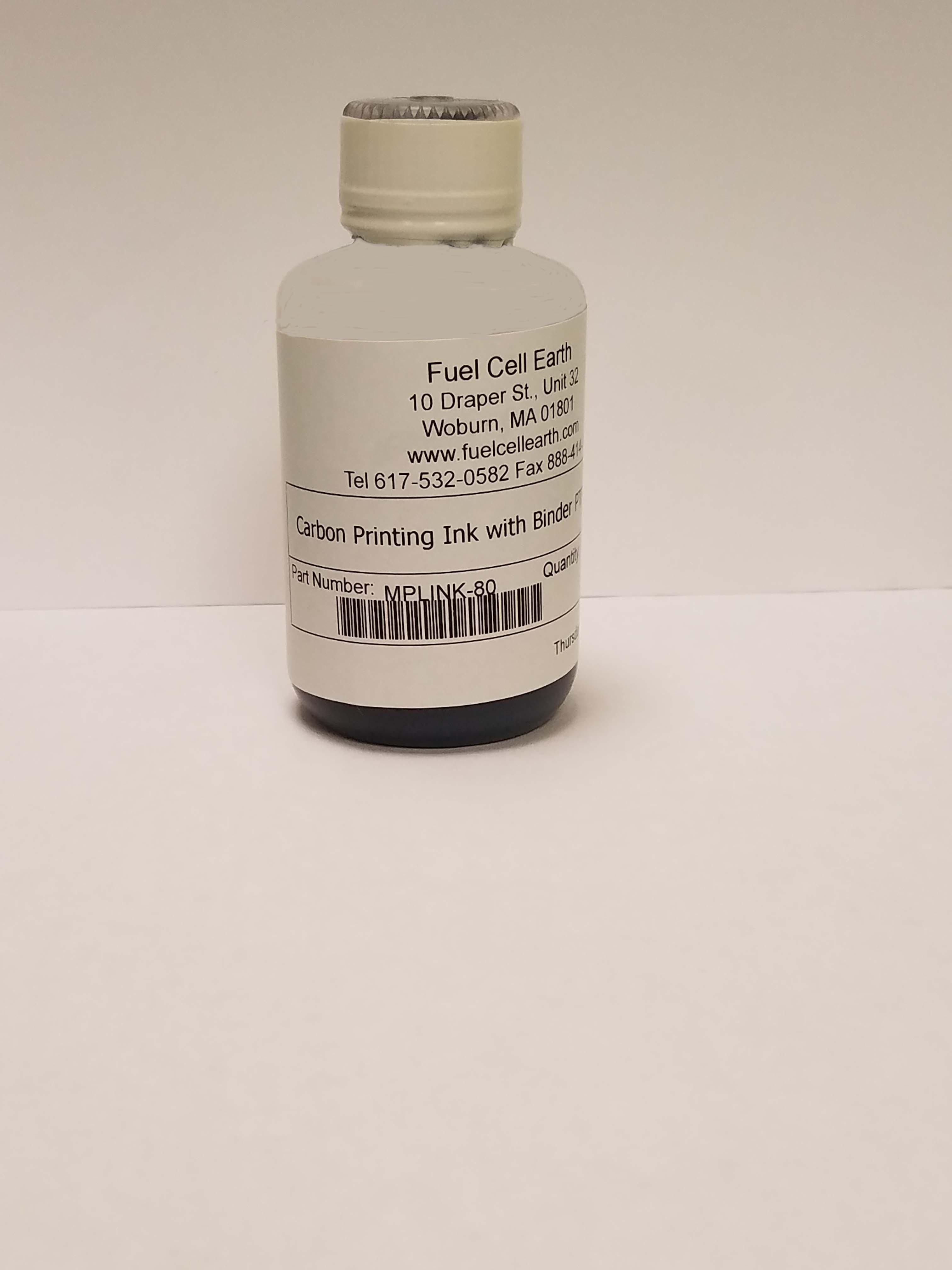 Carbon Printing Ink